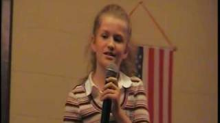 Amazing 10 year old gospel singer - Your Love Is Life To Me Mckenzie George