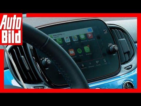 Fiat 500C Mirror (2017) Connectivity/Uconnect