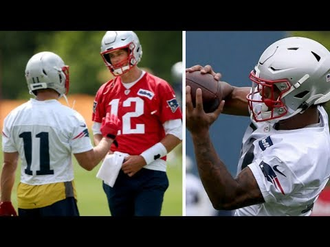 New England Patriots TOP ROOKIE N'Keal Harry Gets On Field With Tom Brady & Julian Edleman