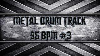 Nu-Metal Drum Track 95 BPM (HQ,HD)