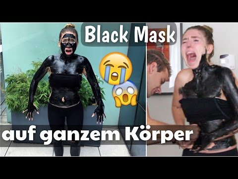 BLACK MASK auf komplettem Körper 😱  mega FAIL ! | BibisBeautyPalace