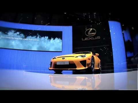 2011 Lexus LFA Nurburgring Edition Geneva Auto Show
