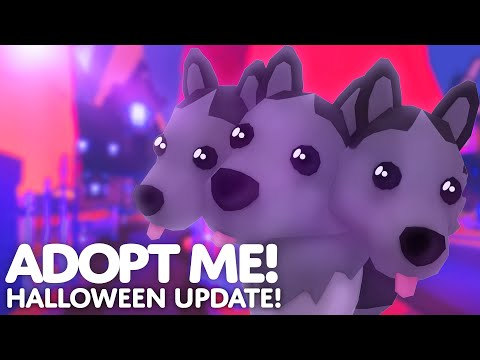 ?? HALLOWEEN UPDATE ???? Ghost Bunny invasion in Adopt me! on Roblox music video cover