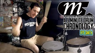 Millencolin: A 5 Minute Drum Chronology - Kye Smith [4K]