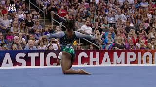 Simone Biles Floor Routine | Champions Series Presented By Xfinity