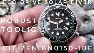 Citizen BN0150-10E Solar Taucheruhr - Diver mit Toolwatch - Charme
