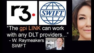 Swift R3 gpi update, Brad Garlinghouse, Visa MC Earthport, SendFriend, Softbank, Ripple is Hiring