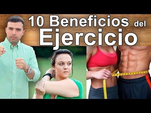 10 Beneficios de Hacer Ejercicio - Entrenar, Flexiones, Abdominales, para Bajar de Peso y Belleza
