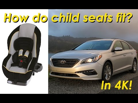 2015 Hyundai Sonata Child Seat Review – In 4K!