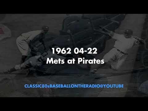 1962 04 22 Mets at Pirates