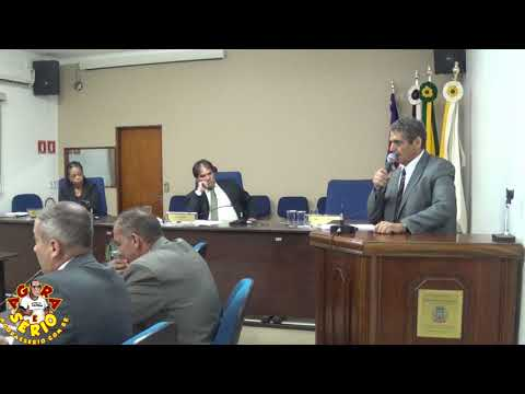 Tribuna Vereador Irineu Machado dia 13 de Março de 2018