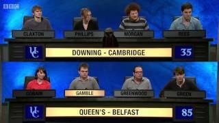 University Challenge S43E18 Downing, Cambridge vs Queen's Belfast - Video Youtube