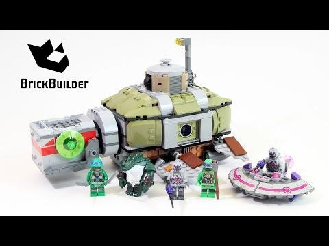 Vidéo LEGO Tortues Ninja 79121 : Course-poursuite sous-marine