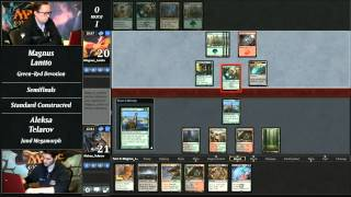 2014 Magic Online Championship Semifinals: Magnuss Lantto vs. Aleksa Telarov