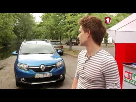 Renault  Sandero Хетчбек класса B - тест-драйв 3