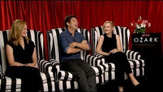 Ozark season 2 interviews - Jason Bateman, Laura Linney, Julia Garner