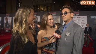 'Extra' Hangs with the 'Avengers: Age of Ultron' Cast at L.A. Premiere!