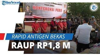 Raup Rp1,8 Miliar, Rapid Antigen Bekas di Bandara Kualanamu Telan 9000 Korban