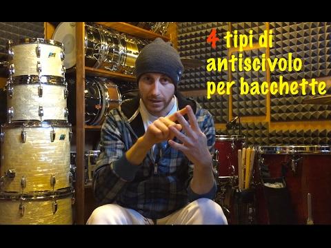 4 METODI ANTISCIVOLO PER BACCHETTE  www.yourdrumsound.com