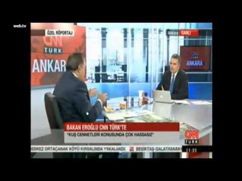 Bakan Eroğlu CNN Türk'de Aras Nehri Kuş Cenneti için;