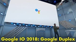 Google Assistant makes a phone call and speaks like a human being.