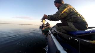 Ловля рыбы летом на черта