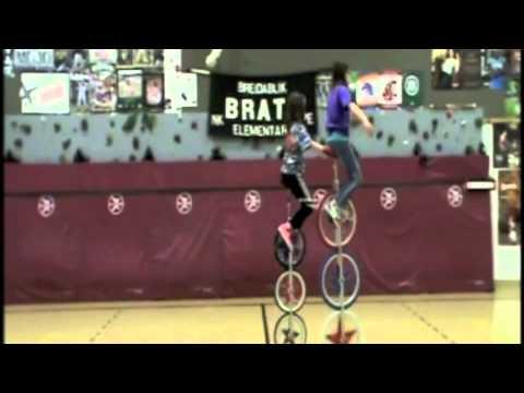 Brats Unicycle Club - Three Wheeler Demonstration