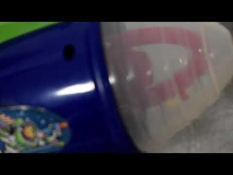 Disney Pixar Toy Story Buzz Lightyear Infinity Blaster játékrobbantó fény nem v- és hanghatásokkal Kép