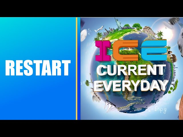 091 # ICE CURRENT EVERYDAY # RESTART