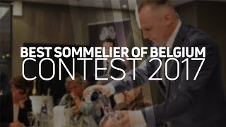 Best Sommelier of Belgium 2017