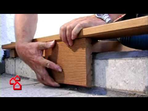 Holzterrasse verlegen – So geht`s richtig | BAUHAUS