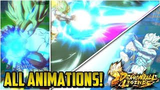 ALL SUMMON ANIMATIONS FOR DRAGON BALL LEGENDS! | Dragon Ball Legends