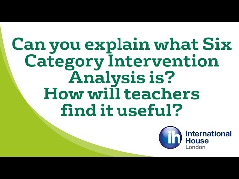 Adrian Underhill - Can you explain what Six Category Intervention Analysis is?