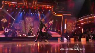 Demi Lovato Performing La La Land On Dancing With The Stars HQ