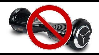 Запрет на гироскутеры в Германии. 22.11.2016