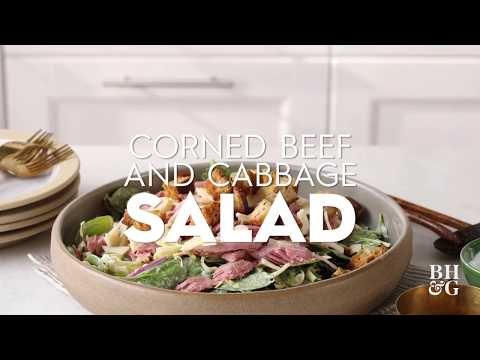 Corned Beef and Cabbage Salad | Fast & Fresh | Better Homes & Gardens