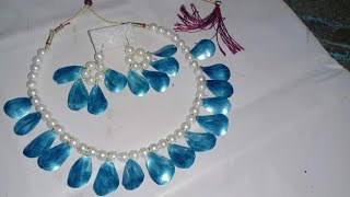 Creative Ways To Reuse Plastic Bottles EP5#Diy Handmade Pearl Necklace#Jewellery Making At Home