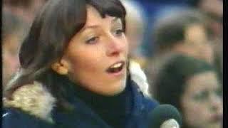 Anne på TV, fra Smegarden camping på Oppdal - 1974