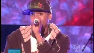 Chris Brown - Gimme That (live)