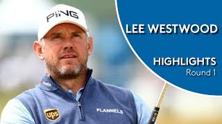 Lee Westwood Highlights   Round 1   2018 D+D Real Czech Masters