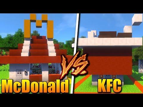 MCDONALD HRAD VS KFC HRAD!