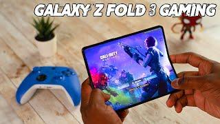 Samsung Galaxy Z Fold3 5G Gaming - A whole New World!
