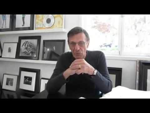 Leonard Nimoy Explaining How He Got Involved In The Bruno Mars Lazy Song Video Clip