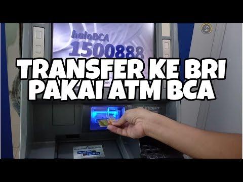 Cara Transfer ke BRI di ATM BCA