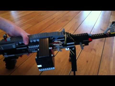 how to make a paper gun that shoots amr mci