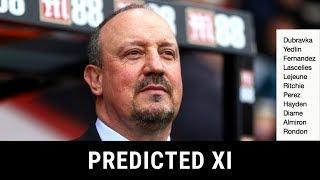 Predicted XI | Arsenal Vs Newcastle United