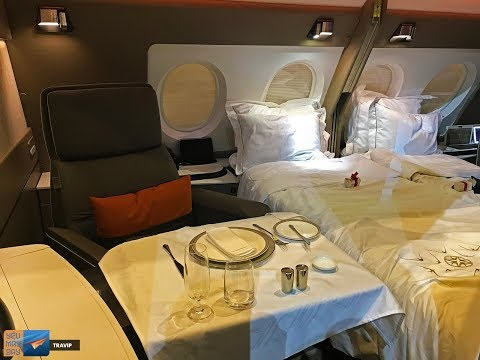 Singapore Airlines new SUITES & BUSINESS CLASS seats | Travip Flight Review