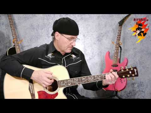 Beginner Acoustic Guitar Lesson - Song Chord Progression