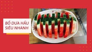 Cách bổ dưa hấu đẹp và đơn giản 01 | Phượng Phạm | How to make watermelon beautiful and simple 01