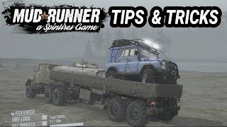 Spintires Mudrunner: Tips and Tricks